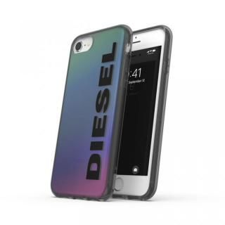 iPhone SE 第2世代 ケース DIESEL Snap Case Clear FW20 Holographic/Black iPhone SE2/8/7