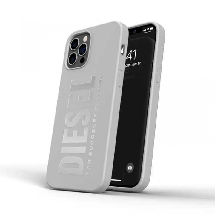 DIESEL Silicone Case SS21 White iPhone 12/12 Pro_0