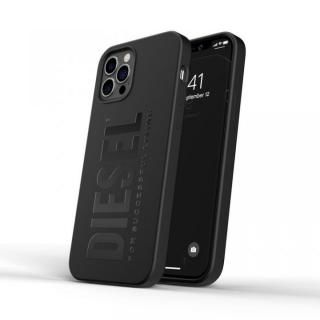 iPhone 12 / iPhone 12 Pro (6.1インチ) ケース DIESEL Silicone Case SS21 Black iPhone 12/12 Pro
