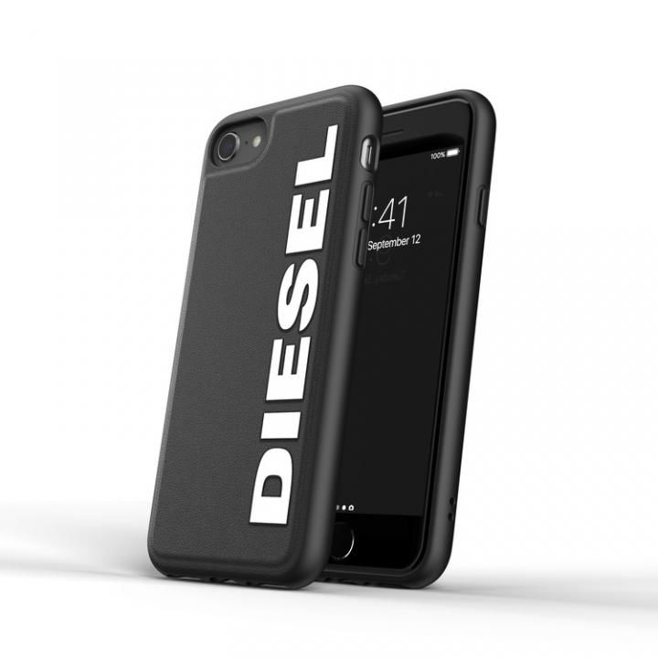 iPhone8/7 ケース DIESEL Moulded Case Core FW20 Black/White iPhone SE2/8/7_0