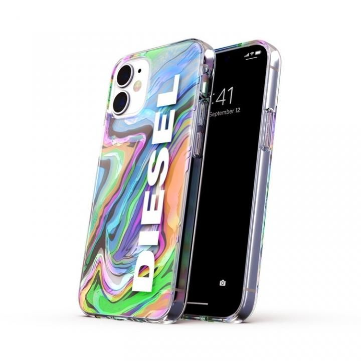 DIESEL Clear Case Digital Holographic SS21 Holographic/White iPhone 12 mini_0