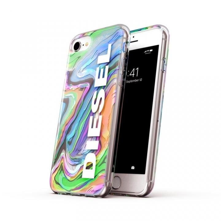 iPhone8/7 ケース DIESEL Clear Case Digital Holographic SS21  iPhone SE2/8/7【4月下旬】_0