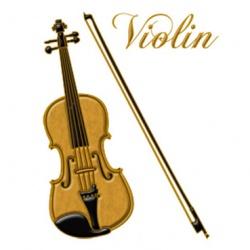 蒔絵シール 楽器 バイオリン