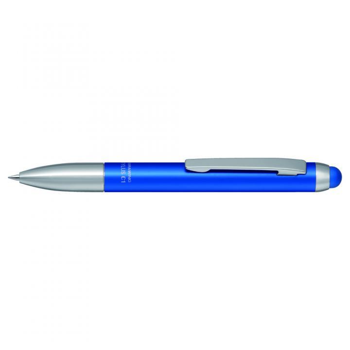 ボールペン付きタッチペン スタイラスC1 青_0