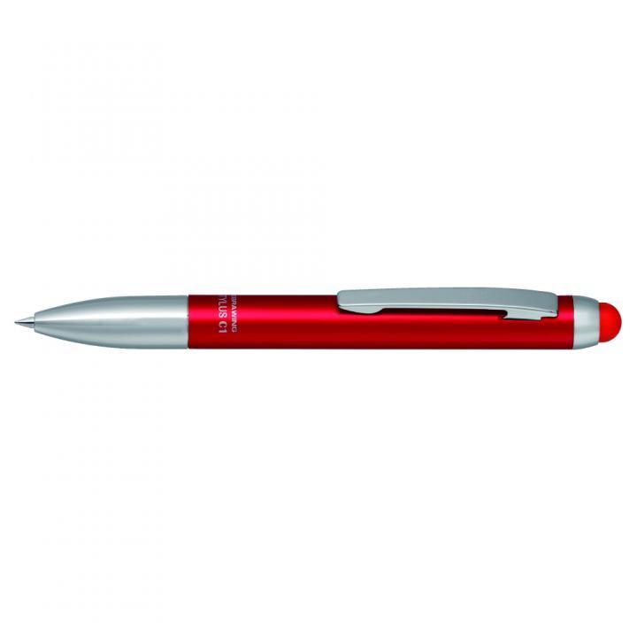 ボールペン付きタッチペン スタイラスC1 赤_0