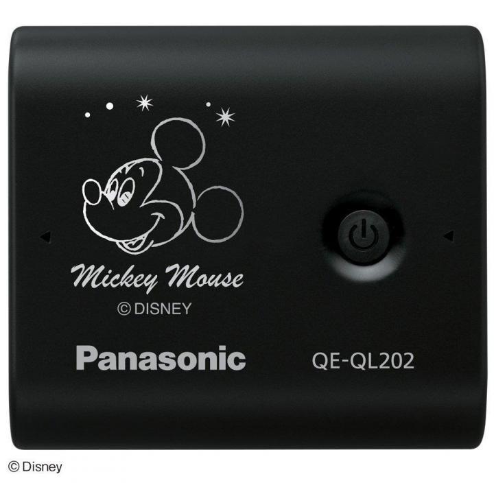 [5800mAh]パナソニック製USBモバイル電源 黒(ディズニーモデル) ミッキーマウス