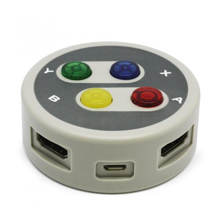 レトロHDMIセレクタ 3ポート搭載(PS4/PS3/PSVitaTV/WiiU/HDMI搭載機器用)_0