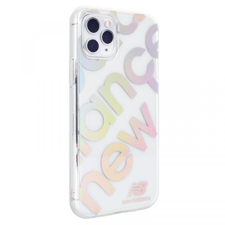 iPhone 11 Pro ケース New Balance スタンプロゴ/オーロラ iPhone 11 Pro【5月中旬】_0