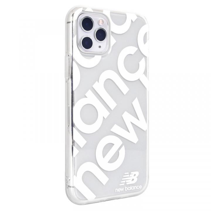 iPhone 11 Pro ケース New Balance スタンプロゴ/ホワイト iPhone 11 Pro_0