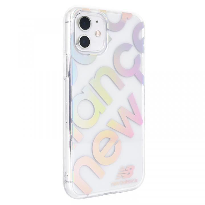 iPhone 11 ケース New Balance スタンプロゴ/オーロラ iPhone 11【8月上旬】_0
