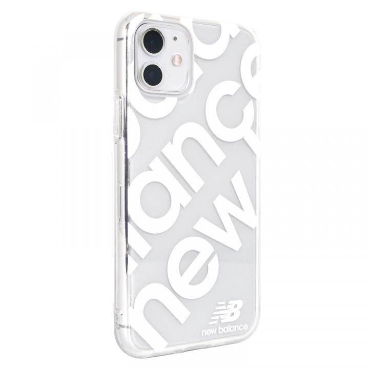 iPhone 11 ケース New Balance スタンプロゴ/ホワイト iPhone 11_0