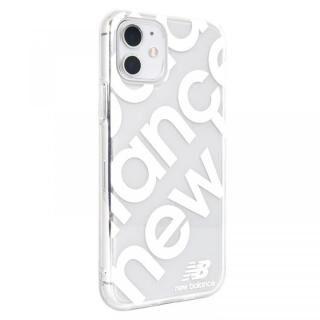 iPhone 11 ケース New Balance スタンプロゴ/ホワイト iPhone 11