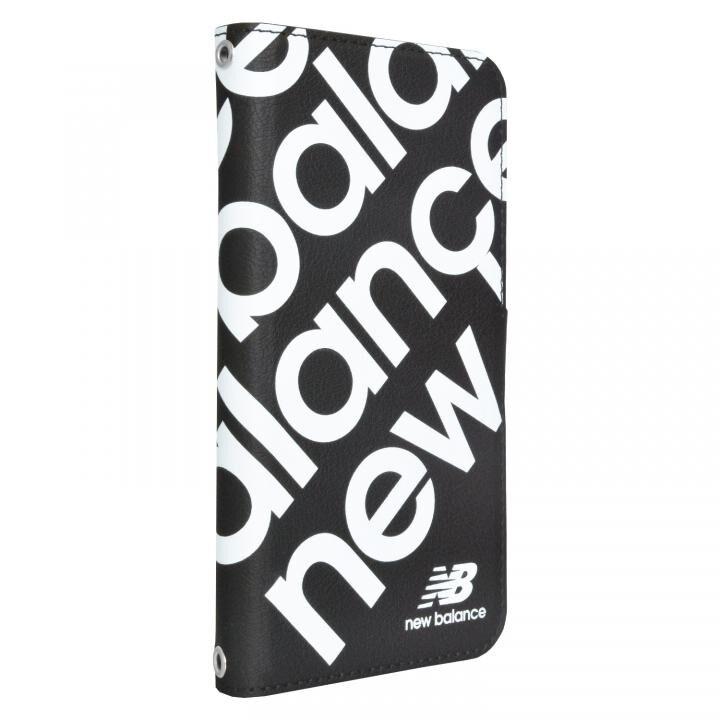 New Balance 多機種対応マルチ手帳ケース スタンプロゴ/ブラック_0