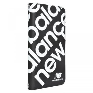 New Balance 多機種対応マルチ手帳ケース スタンプロゴ/ブラック