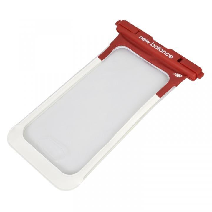 iPhone 11 Pro Max ケース New Balance 防水ポーチ レッド×ホワイト_0