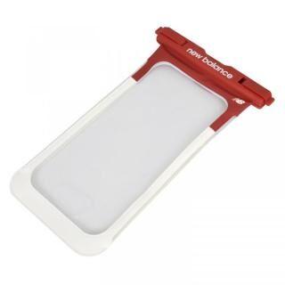 iPhone 11 Pro Max ケース New Balance 防水ポーチ レッド×ホワイト