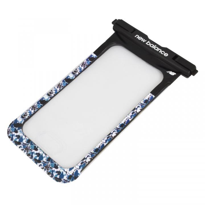 iPhone 11 Pro Max ケース New Balance 防水ポーチ ブラック×ノースシー_0