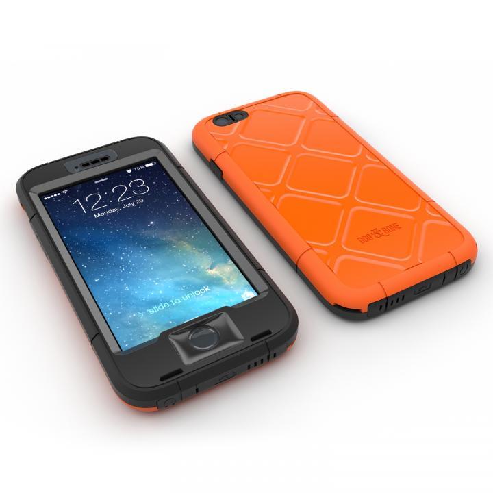 Touch ID対応 防水/防塵/防雪/耐衝撃ケース WETSUIT オレンジ iPhone 6