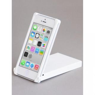 ヌンチャクケース Trick Cover アルミカラバリ ホワイト iPhone 5s/5ケース