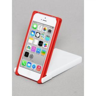 ヌンチャクケース Trick Cover  レッド・ホワイト iPhone SE/5s/5ケース