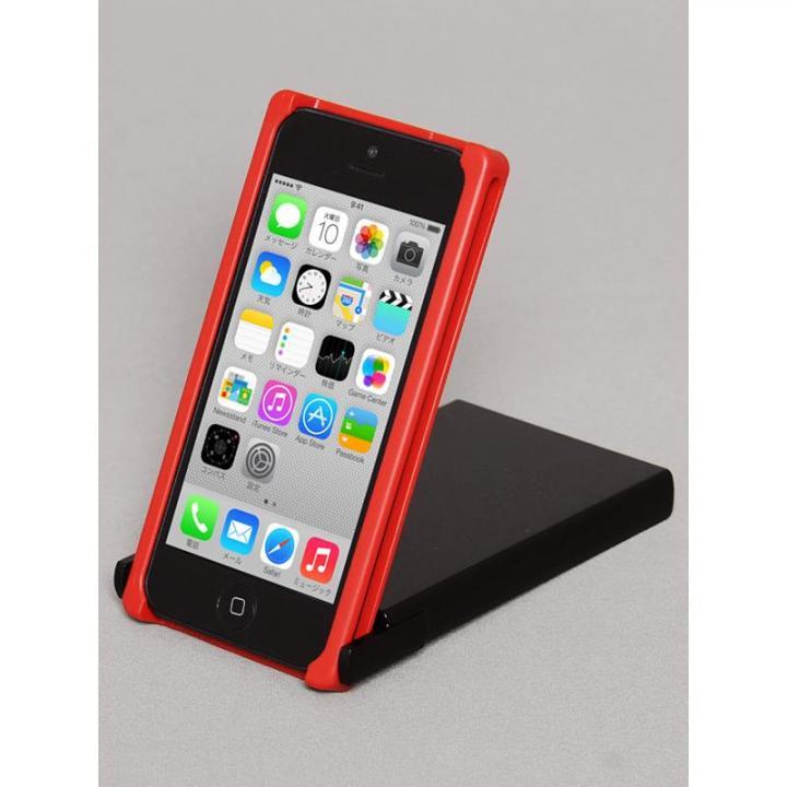 iPhone SE/5s/5 ケース ヌンチャクケース Trick Cover  レッド・ブラック iPhone SE/5s/5ケース_0