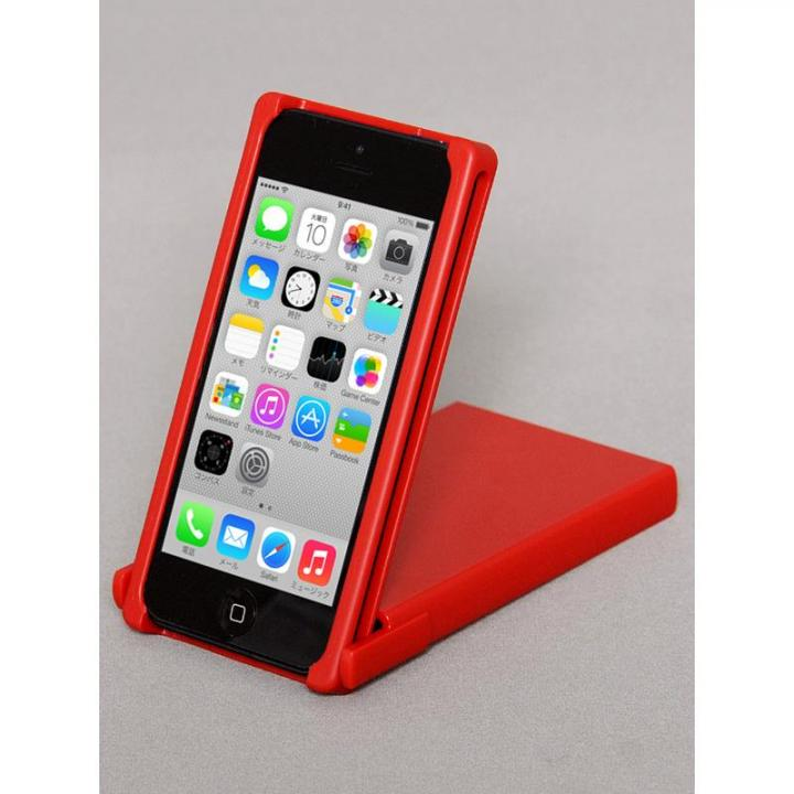 【iPhone SE/5s/5ケース】ヌンチャクケース Trick Cover  レッド・レッド iPhone SE/5s/5ケース_0