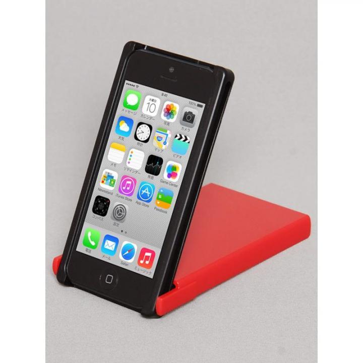 iPhone SE/5s/5 ケース ヌンチャクケース Trick Cover  ブラック・レッド iPhone SE/5s/5ケース_0