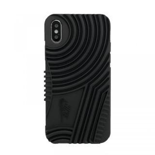 【iPhone Xケース】NIKE AIR FORCE1 ソフトケース ブラック iPhone X