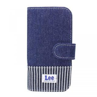 6a911d1bcf iPhone8/7/6s/6 ケース Lee デニムとヒッコリーの2トーン手帳型ケース ネイビー iPhone…