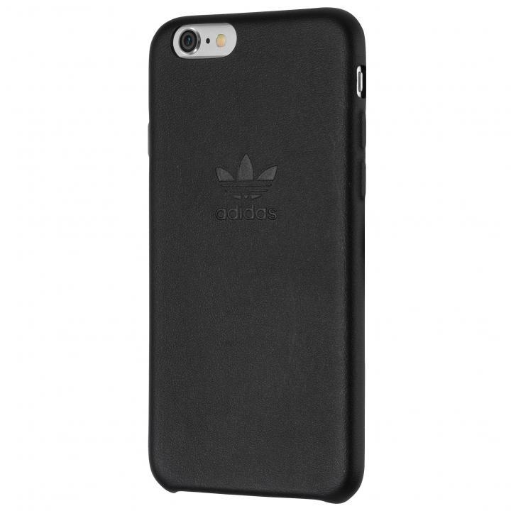 iPhone6s/6 ケース adidas スリムPUレザーケース ブラック iPhone 6s/6_0