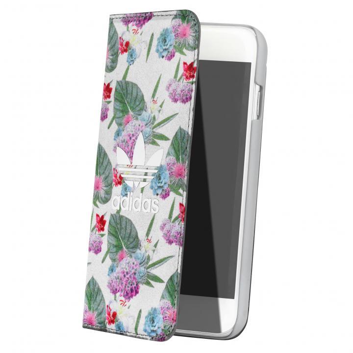 iPhone6s/6 ケース adidas 手帳型ケース Flower iPhone 6s/6_0