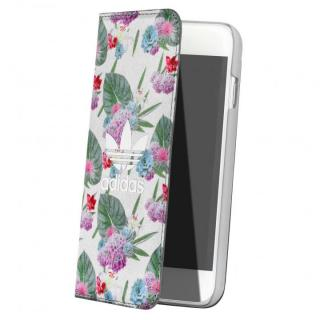 [強靭発売記念特価]adidas 手帳型ケース Flower iPhone 6s/6