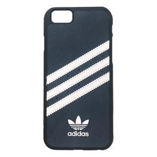 iPhone6s Plus/6 Plus ケース adidas スエード ハードケース ブルー/ホワイト iPhone 6s Plus/6 Plus