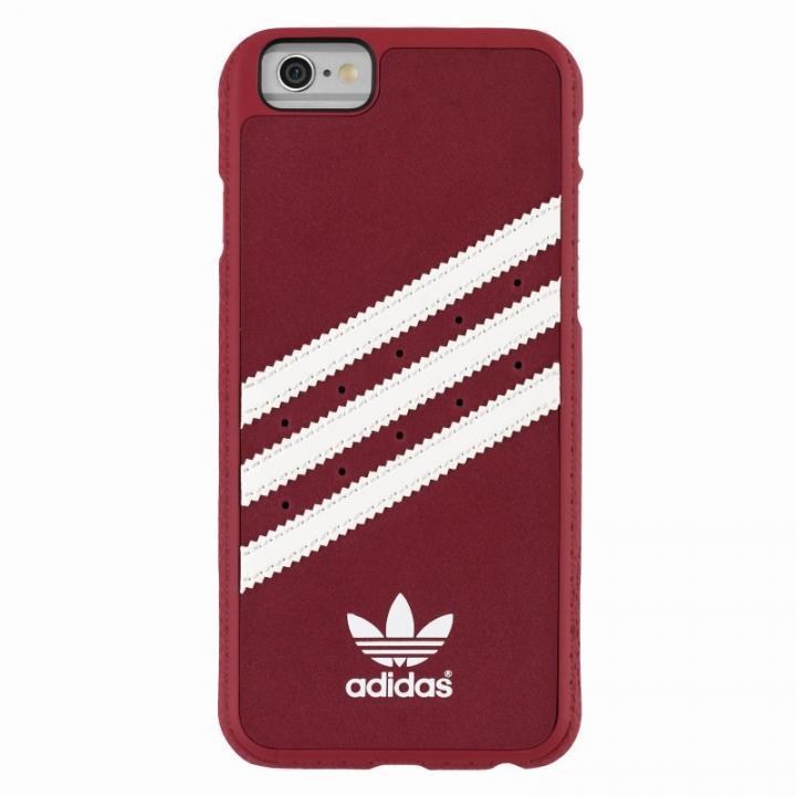 iPhone6s Plus/6 Plus ケース adidas スエード ハードケース レッド/ホワイト iPhone 6s Plus/6 Plus_0