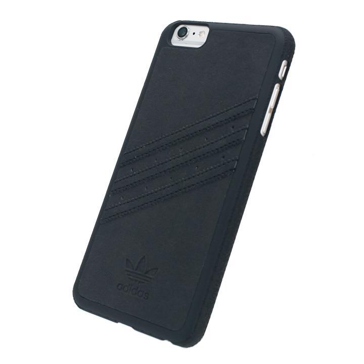 adidas スエード ハードケース ブラック iPhone 6s Plus/6 Plus