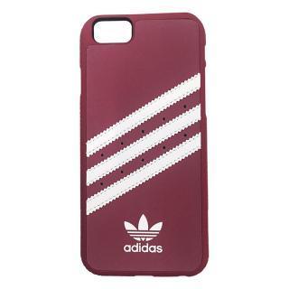 adidas スエード ハードケース ピンク/ホワイト iPhone 6s Plus/6 Plus