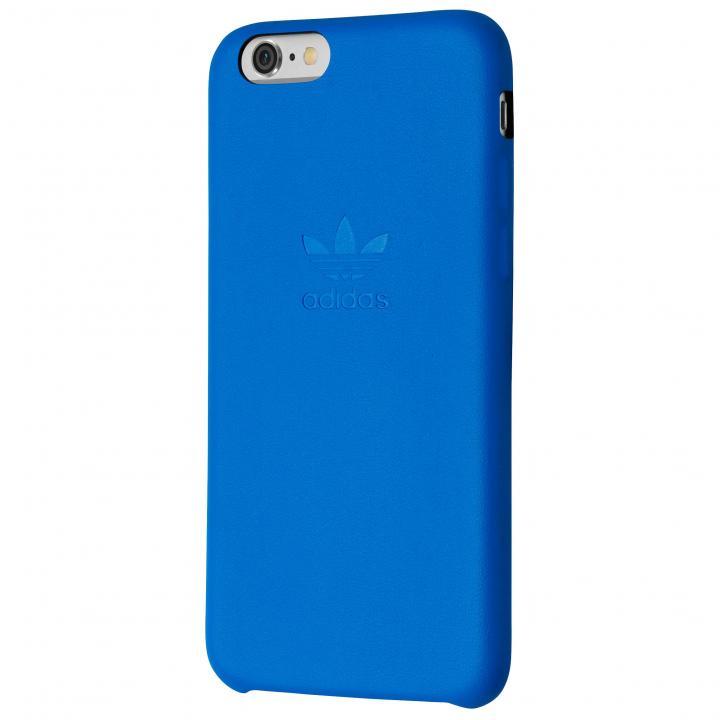 adidas スリムPUレザーケース ブルー iPhone 6s Plus/6 Plus