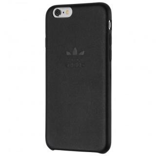 adidas スリムPUレザーケース ブラック iPhone 6s Plus/6 Plus