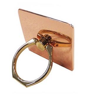 落下防止 スマートフォンリング Grip Ring メタリック ピンクゴールド