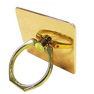 落下防止 スマートフォンリング Grip Ring メタリック ゴールド