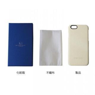 【iPhone6ケース】日本製天然皮革使用 レザーケース ヒョウ柄白 iPhone 6_4