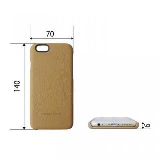 【iPhone6ケース】日本製天然皮革使用 レザーケース レッド iPhone 6_3