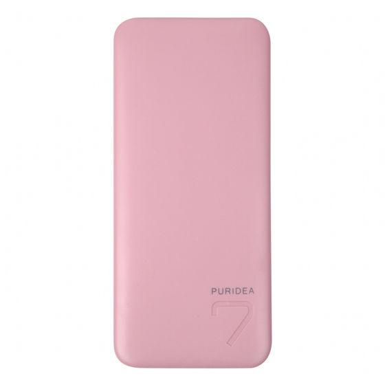 [新生活応援特価][6600mAh]technologic スタイリッシュ モバイルバッテリー ピンク