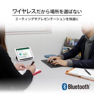 Bluetooth3.0 ワイヤレス折りたたみ式英語配列78キーボード ホワイトキー/シルバー_2