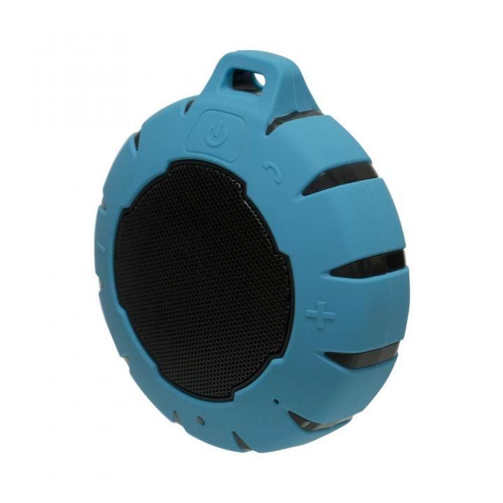 水に浮く Bluetooth コンパクト防水スピーカー ライトブルー_0