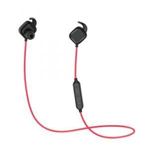 [新iPhone記念特価]Bluetooth4.1 ワイヤレスイヤホン マグネットスイッチ マイク内蔵 レッド