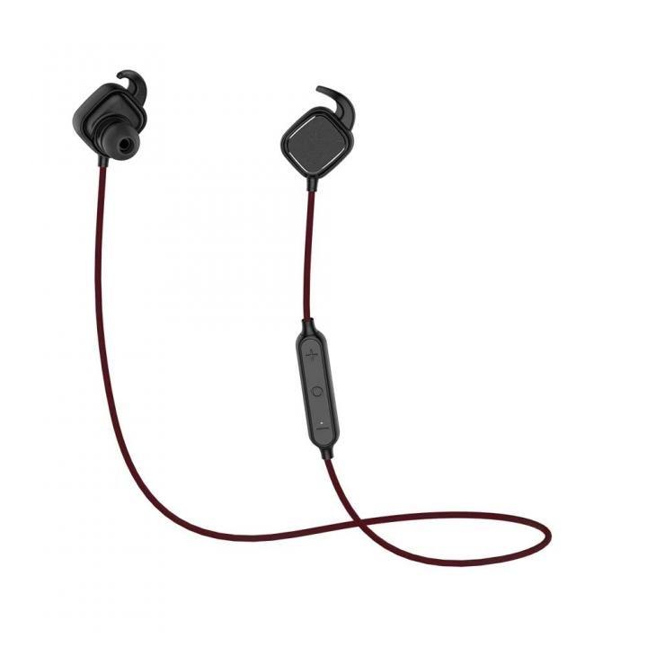 Bluetooth4.1 ワイヤレスイヤホン マグネットスイッチ マイク内蔵 ブラック_0