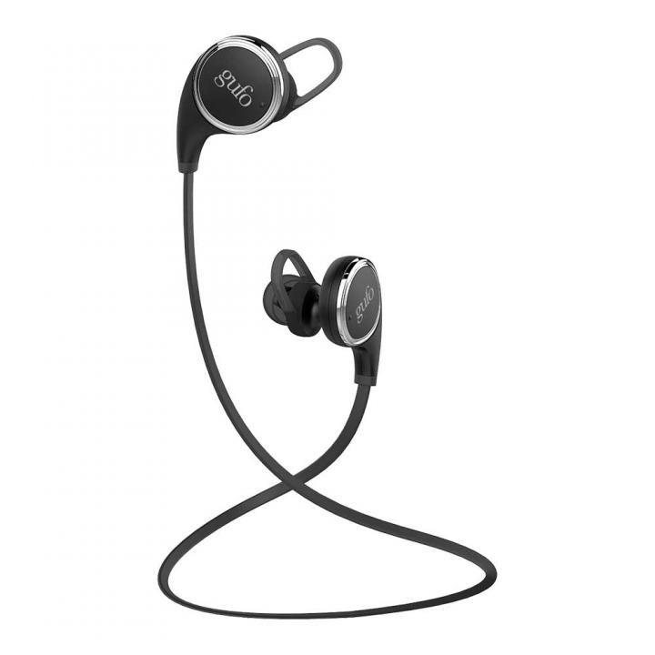 Bluetooth4.1 ワイヤレスイヤホン マイク内蔵 ブラック_0