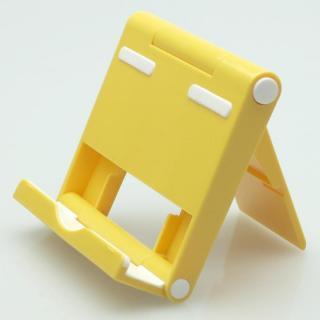 [GWセール]角度調整機能付き タブレットPC用スタンド パディングⅡ イエロー