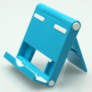 角度調整機能付き タブレットPC用スタンド パディングⅡ ブルー